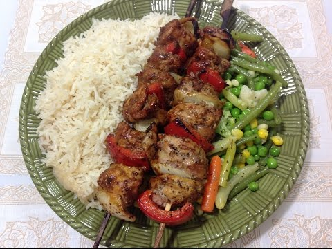 How to make Chicken Souvlaki