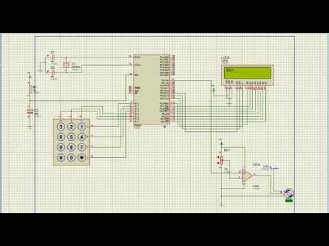 servo Motor control through Keypad using 8051