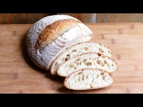 Video #5 - Large Holes Sourdough Bread - Baking - High hydration Bread