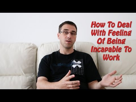 Feeling Incapable To Work Because Of Your Social Anxiety?