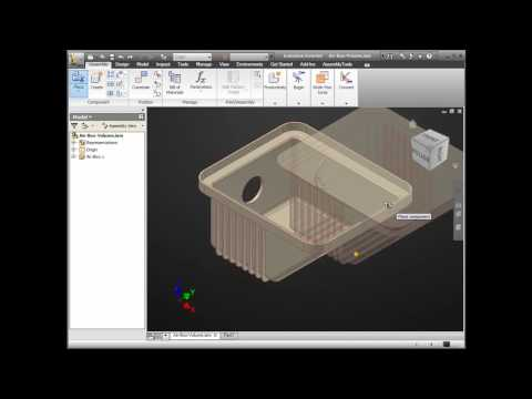 Autodesk Inventor - Internal Volume of a Container