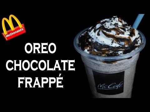 Make Oreo Chocolate Frappé like McDonald's McCafe | McDonald's Frappe Recipe | yummylicious