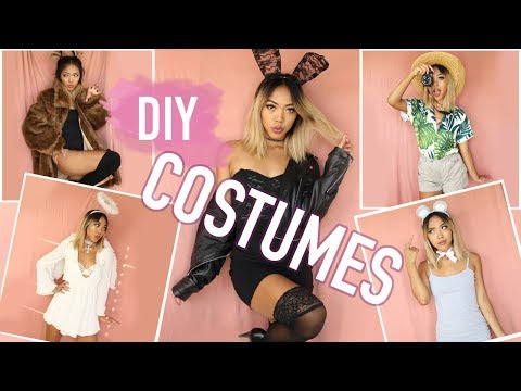*EASY* 5-MIN HALLOWEEN COSTUMES! How to turn your clothes into costumes! | Nava Rose