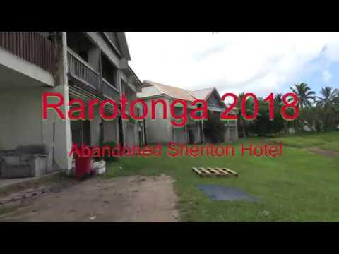 Rarotonga   Abandoned Sheriton Hotel