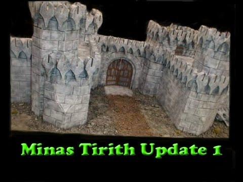 LOTR Minas Tirith Terrain Update 1