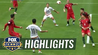 Chicharito header puts Mexico level with Portugal | 2017 FIFA Confederations Cup Highlights