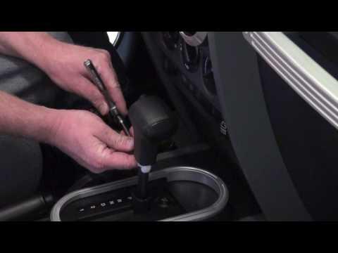 JK Jeep Auto Shift Knob Install