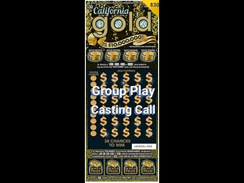 (CLOSED) Casting Call - $30 California Gold Group Play