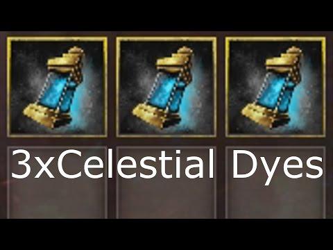 [OVER] GIVEAWAY Celestial Dye (3 dyes, 3 winners) | Guild Wars 2