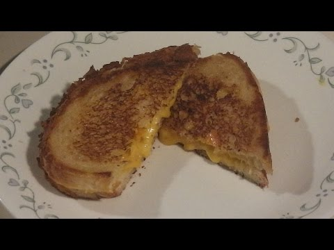 How to make an Awesome Grilled Cheese Sandwich