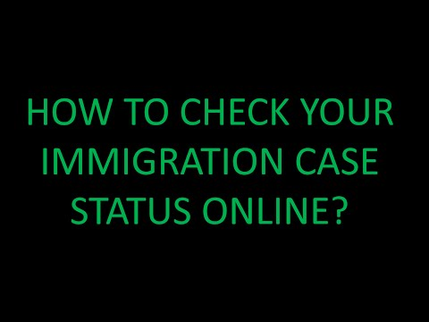 HOW TO CHECK YOUR APPLICATION CASE STATUS