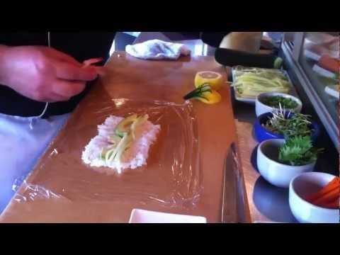 sushi  without seaweed