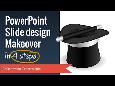 PowerPoint Slide Design Makeover (4 Easy Steps)
