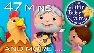 Old MacDonald Had A Farm | Part 3 | Plus More Nursery Rhymes | 47 Mins Compilation by LittleBabyBum!