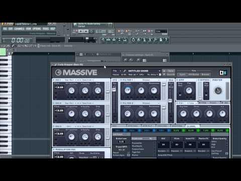 FL Studio 10: Drum n' Bass Tutorial Part 1 (DnB)