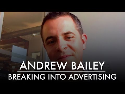 Breaking Into the Advertising World | The & Partnership CEO Andrew Bailey | AQ's Blog & Grill