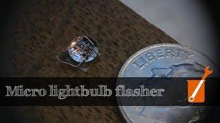 World's smallest lightbulb flasher?  Flashing Light Prize 2017