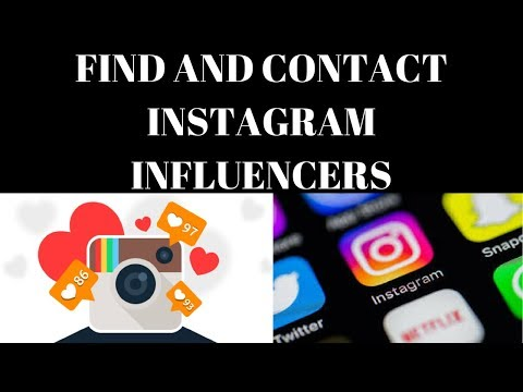 How To Find And Contact Instagram Influencers In Your Niche