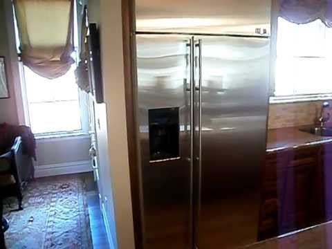 self cleaning refrigerator for 10 years ( stainless steel )