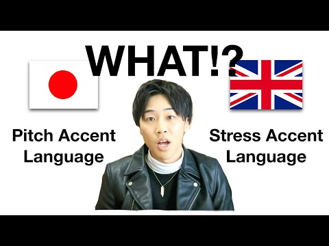 Pitch & Stress Accent Languages   All Japanese learners MUST know this...