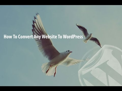 Converting HTML to WordPress Real Simple