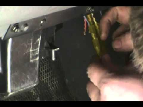 2004 Duramax Diesel blower resistor and pig tail harness