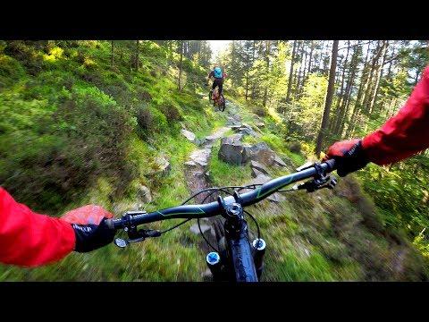 There IS dust in Scotland | Mountain biking Innerleithen, Scotland