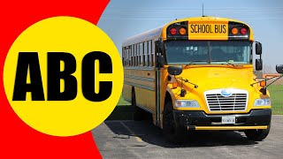 ALPHABET TRANSPORTATION VEHICLES for Children - Learn ABC with Vehicles for Kids and Toddlers