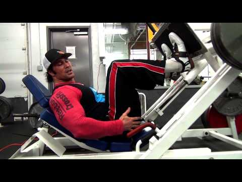 Quads - Leg Press variations, with Mike O'Hearn and Risto Sports