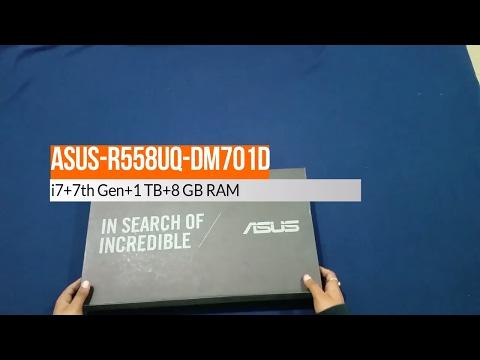 Unboxing Asus R558UQ-DM701D (Best Budget laptop for gaming 2017) !!