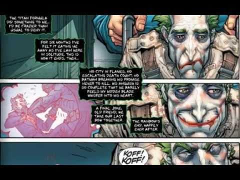 Batman Arkham City #1 Comic Book Review -CDBWater