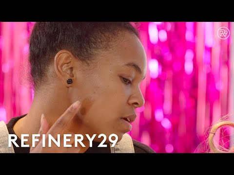 How To Match Foundation To Your Skin Tone With Mi-Anne Chan | Beauty In A Snap | Refinery29