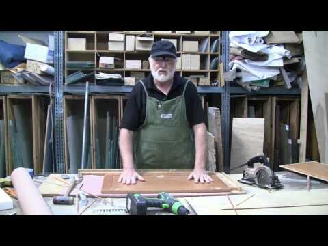 How To Cut Out Cabinet Doors For Glass
