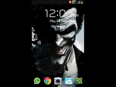 Ripple Effect Lock Screen For Samsung Galaxy Core GT-I8262