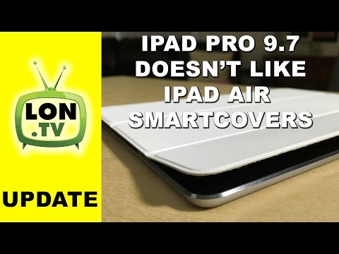 iPad Pro 9.7 Doesn't Work with iPad Air 2 Smart Covers - Magnetic polarity shift!