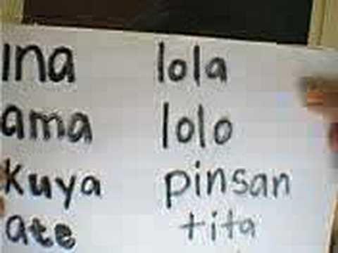 how to speak filipino lesson 2