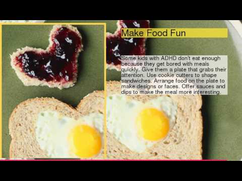 Tips to Get Your Kid With ADHD to Eat