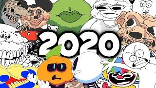 Sr Pelo 's Gags, Screams, And Faces - 2020