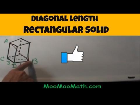 Diagonal Length of a Rectangular Solid