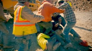 Watch Tempers Flare As A Fight Breaks Out On The Hoffman Claim | Gold Rush
