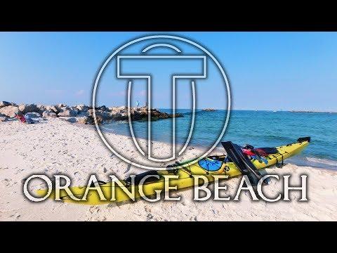 Kayak Camping w Lightning Storm - Orange Beach Al