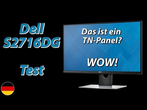 Dell S2716DG Test | Das ist ein TN-Panel? Wow! (deutsch)