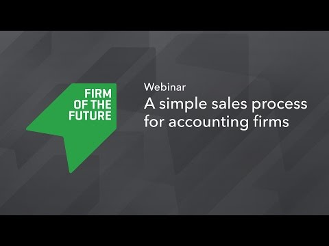 A Simple Sales Process for Accounting Firms