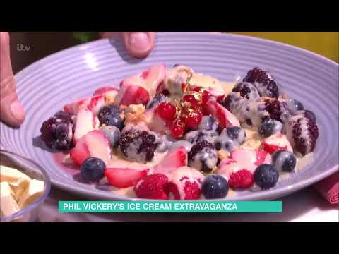 Phil Vickery's Iced Berries With Hot White Chocolate Sauce | This Morning