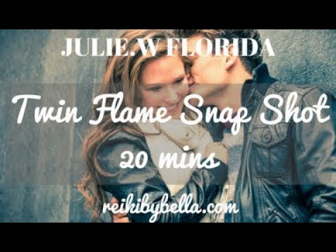 JULIE W TWIN FLAME SNAP SHOT***UNION IN 8 WEEKS TRAVEL***MARRIAGE***10 of CUPS***