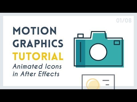 Intro to Motion Graphic Icons: Camera [1/8] | After Effects Tutorial