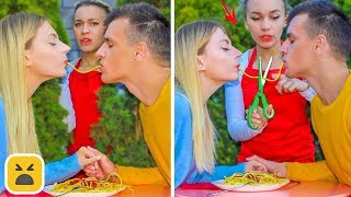 FUNNY DATE PRANKS! Friends Prank On First Date