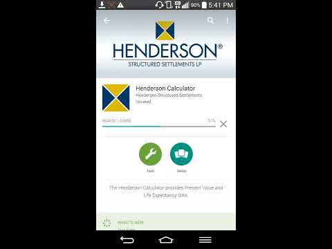 Henderson Calculator - Henderson Structured Settlements