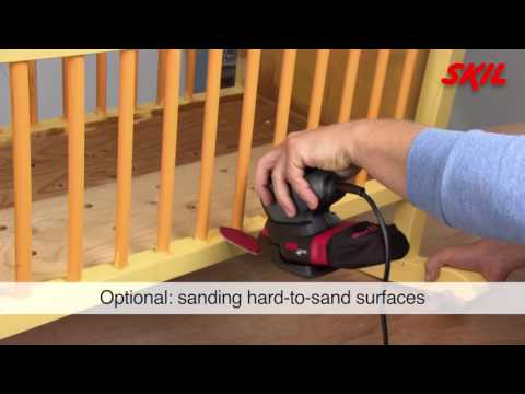 What type of sander do I need for which job?