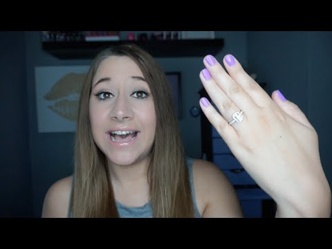 ♥ I'M ENGAGED! All about my engagement ring & wedding plans!